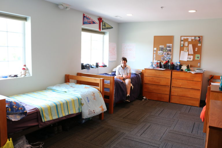 Student Dorm Room on Main Campus