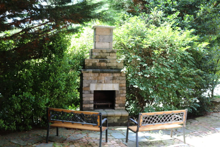 Students can enjoy several outdoor fire pits.