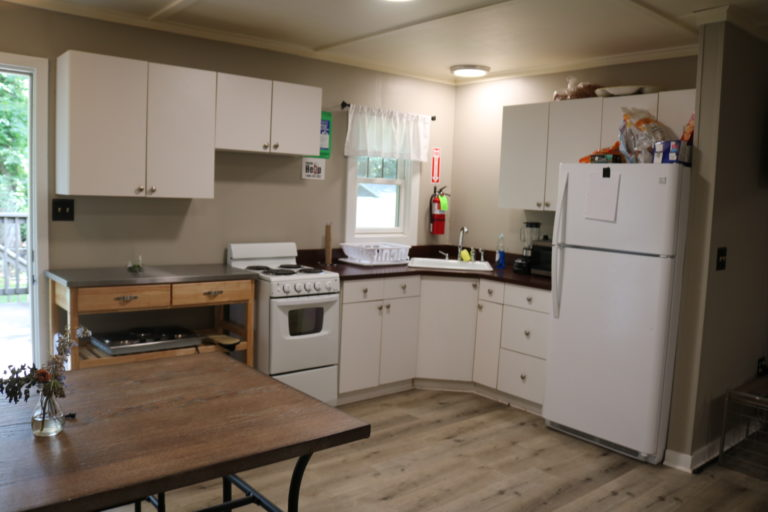 Kitchen in the Lookout Apartment